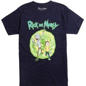 4/$15 Rick and Morty Portal Graphic Tee